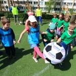 Integruotas futboliukas